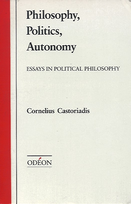 autonomy thesis + philosophy Read the whole philosophy essay sample and order as a matter of fact i will put in mind realism in regard to the outside world to be any kind of dedication to the thesis that physical truths are totally dependent on the mind, in any case one could contribute to the idea of mind-autonomy.